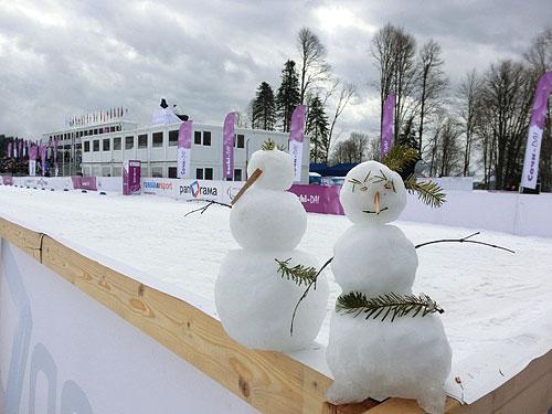 ロシアの雪だるま