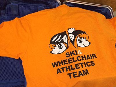 応援用Tシャツです、企業名は入れていません