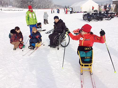 シットスキー体験